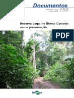 Reserva Legal No Bioma Cerrado Uso e Preservacao