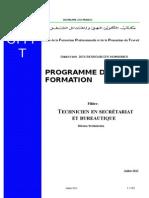 TSB Programme de Formation Juillet 2012