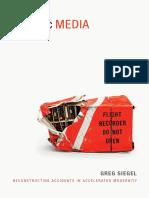 Forensic Media by Greg Siegel