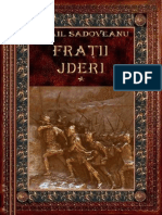 Mihail Sadoveanu - Fratii Jderi Vol 1