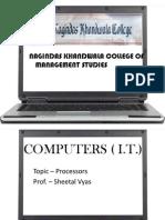 Computer Proceessors