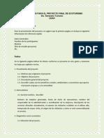 LINEAMIENTOS PROYECTO ECOTURISMO