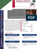 Global Security Defense Index on Climate Change - Bangladesh 2014