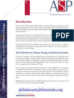 Global Security Defense Index on Climate Change - Intro 2014