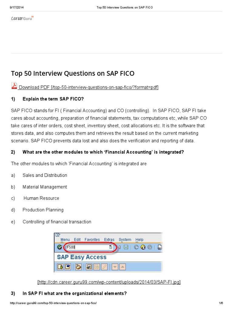Top 50 interview questions on sap fico debits and credits top 50 interview questions on sap fico debits and credits financial accounting xflitez Images