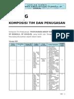AKNOP Sungai Riau - G. Komposisi Tim Dan Penugasan