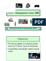 PGES - Management Course 2004