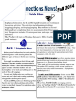 Connections Newsletter Fall 2014