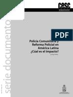 Policia comunitaria y Reformas