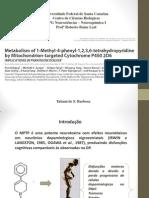 Metabolismo de MPTP Pela Mitocndria Marcada Com Citocromo p450 2d6