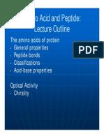 Topic 2 Amino Acid and Peptide Abbrev