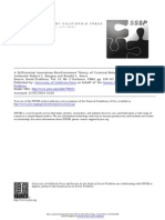 Teoria de Reforco a Associacao Diferencial de Burgess e Akers