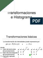 Transformaciones e Histogramas