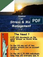 Stress Management seminar
