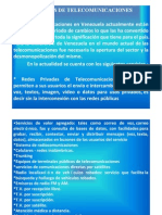 UNIDAD I - Servicios de Comunicaciones