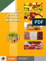 Guia Alimentaria Mexicana