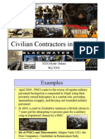 Civilian Contractors in the AO