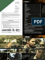 Manual Resident Evil 5