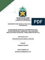 Presentacion, Indice, Bibliograf, De Monografia