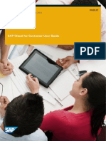 SAP Customer User Guide