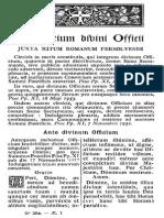 2. Ordinarium Divini Officii