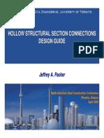 Guía de Fallas en Conexiones HSS