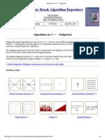 Algorithms in C++ -- Sedgewick