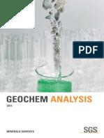 SGS Min Geochem Guide 2011