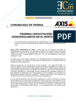 NP - Primera capacitación en videovigilancia en el Norte de Perú