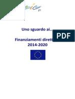 Uno Sguardo Ai Finanziamenti Diretti 2014 2020 3