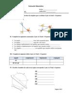 Evaluacion Matemática