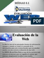 3.1 Evaluación Web