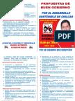 Propuesta de Gobierno Chilcas
