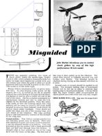 Misguided Missile. Contest Chuck Glider. Article&Plan. Aeromodeller March 1953[1]