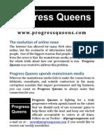 2014-09-19 Progress Queens (Flyer)