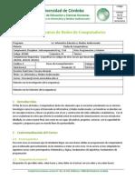 Plan de Asignatura 2014 2 Redes de Computadores (FormatoPorCompetencias)