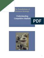 Understanding Competitive Markets