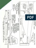 Polka Dot indoor Chuck Glider  Plan  Aeromodeller December 1996
