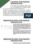 MEDICIÓN Radiactiva de Nivel