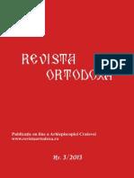 Revista Ortodoxa Nr 3