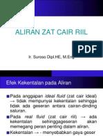 09 Aliran Zat Cair Riil