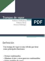 Trampas de Vapor - Generalidades