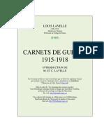 Carnets de Guerre 1915-1918