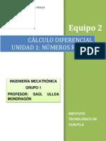 Unidad 1 Cálculo Diferencial