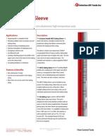 NEFD Sliding Sleeve Technical Datasheet