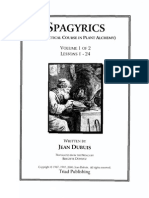 Dubuis, Jean - Spagyrics Vol 1