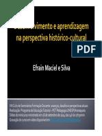 Desenvolvimento e aprendizagem na perspectiva histórico-cultural