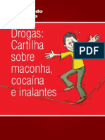 Drogas Cartilha Sobre Maconha Cocaina e Inalantes