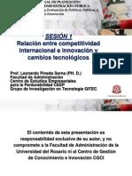 Leonardo Pineda - Relacion Entre Competitividad Internacional e Innovacion y Cambios Tecnologicos