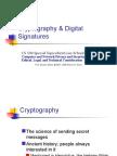 Crypto and Digital Signatures
